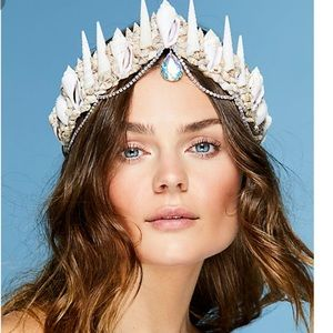 Free people cosmic tides mermaid crown NWT 🌊🌊